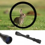 Adjustable Tactical Riflescope Reticle Sight Scope for Shotgun Rifle Hunting