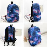 Backpack Galaxy Print Cosmic Large Space Canvas Backpack