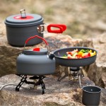 Camping Cooking Set Outdoor Gourmet