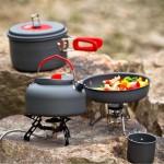 Camping Cooking Set Outdoor Gourmet