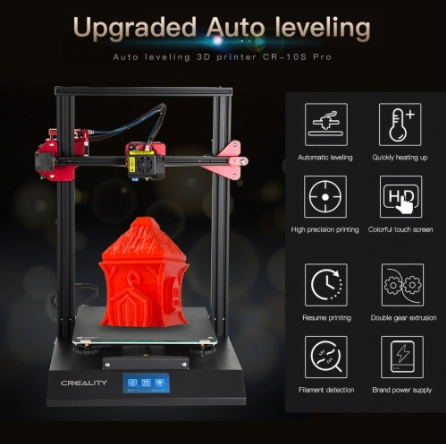 CREALITY CR-10S Pro 3D Printer TOMTOP